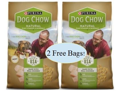 Free Purina Naturals Dog Food Starting 9/22 at Publix!