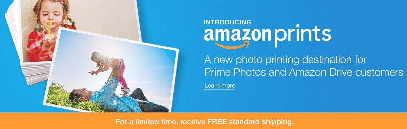 Amazon Prints –  FREE 50 4×6 Photo Prints AND FREE Shipping (Prime Members Only)