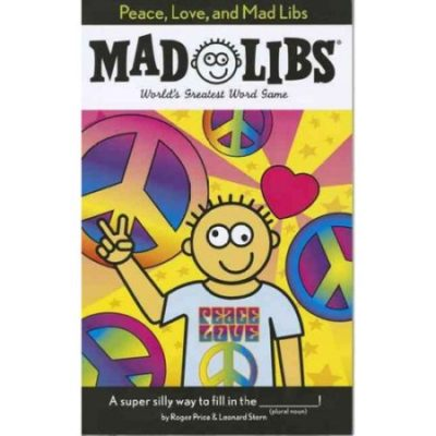 Walmart – Peace, Love, and Mad Libs Only $2.59  (Reg $3.45) + Free Store Pickup