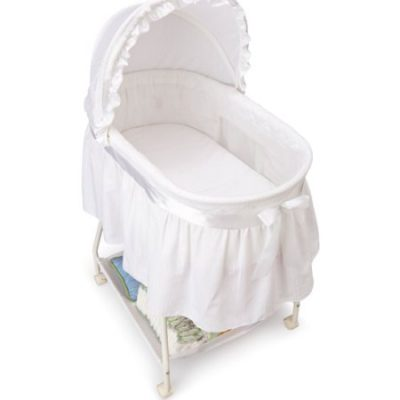 Walmart – Delta Children's Products Sweet Beginnings Bassinet, White Only $39.99 (Reg $59.98) + Free Store Pickup