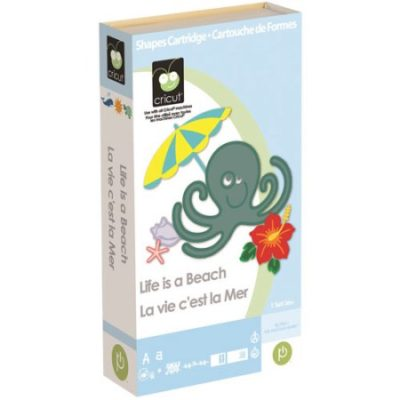 Walmart – Cricut Cartridge, Life Is A Beach Only $17.99 (Reg $45.00) + Free Store Pickup