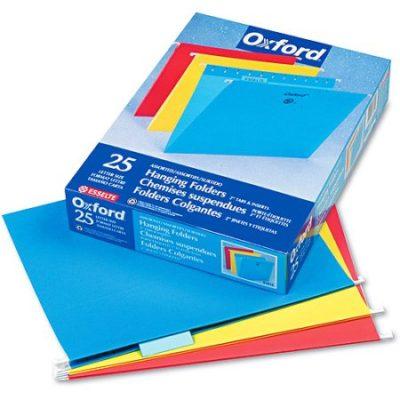 Walmart – Pendaflex Hanging File Folders, Assorted, 25/Box Only $12.98 (Reg $19.99) + Free Store Pickup