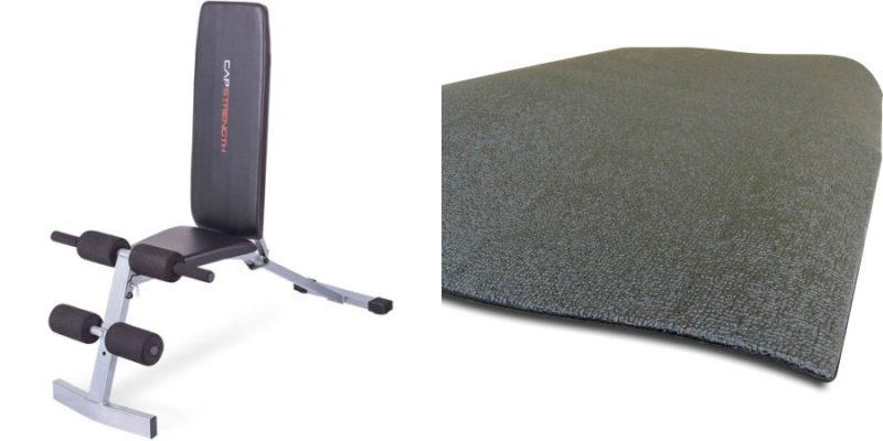 Walmart – CAP Strength FID Bench With BONUS CAP Barbell PVC Equipment Mat Only $47.30 (Reg 82.77) + Free Store Pickup