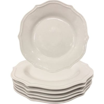 Walmart – Better Homes and Gardens Scalloped Dinner Plates, White Set of 6 Only $27.75 (Reg $37.84) + Free Store Pickup