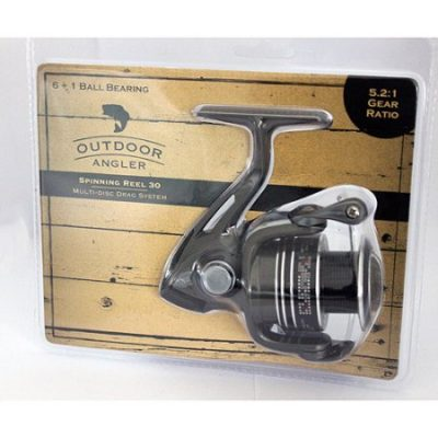 Walmart – Outdoor Angler Spinning Reel 30 Only $10.99 (Reg $14.88) + Free Store Pickup