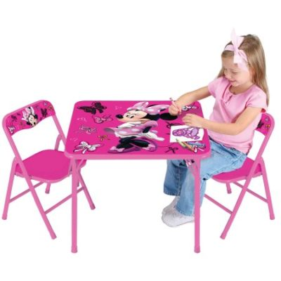 Walmart – Disney Minnie Mouse First Fashionista Activity Table Set Only $32.97 (Reg $39.98) + Free Store Pickup