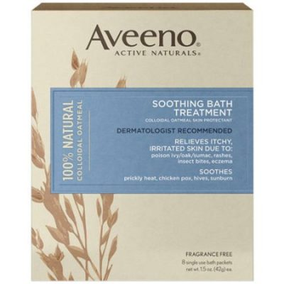 Walmart – Aveeno Active Naturals Soothing Bath Treatment Only $6.27 (Reg $6.96) + Free Store Pickup