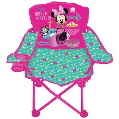 Walmart – Disney Minnie Mouse Jet Set Fold 'N Go Chair Only $12.99 (Reg $19.00) + Free Store Pickup