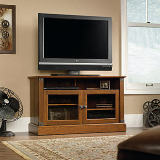 Sears – Sauder Carson Forge Panel TV Stand Only $155.54 (Reg $214.99) + Free Shipping