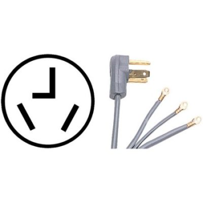Walmart –  Certified Appliance 90-1028 3-Wire Dryer Cord, 10′ Only $12.88 (Reg $14.04) + Free Store Pickup