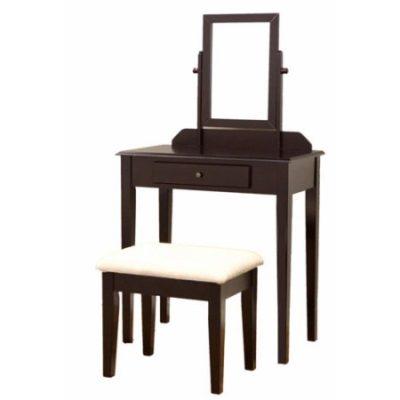 Walmart – Home Craft 3-Piece Vanity Set, Espresso Only $75.25 (Reg $91.36) + Free Shipping