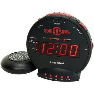 Walmart – Sonic Alert Boom Alarm Clock BB500SS Only $30.75 (Reg $37.99) + Free Store Pickup