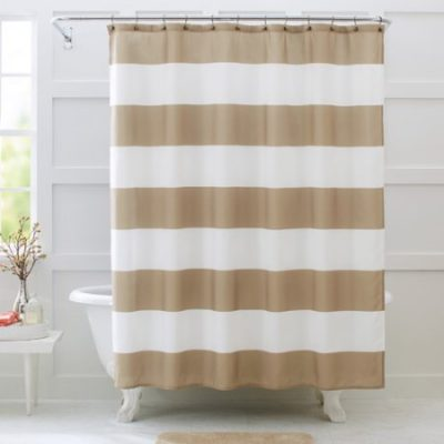 Walmart – Better Homes and Gardens Porter Stripe Fabric Shower Curtain Only $9.91 (Reg $17.16) + Free Store Pickup