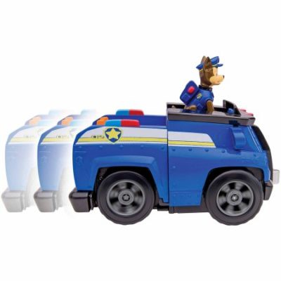 Walmart – Nickelodeon Paw Patrol – Chase's Deluxe Cruiser, Figure with Vehicle with Sounds Only $15.19 (Reg $24.97) + Free Store Pickup