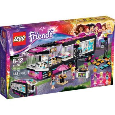 Walmart – LEGO Friends Pop Star Tour Bus, 41106 Only $47.99 (Reg $59.92) + Free Store Pickup
