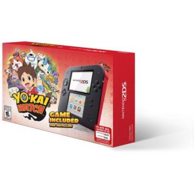 Walmart – Nintendo 2DS with Yo-Kai Watch Game, Red Only $79.00 (Reg $89.00) + Free Shipping