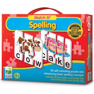 Walmart – The Learning Journey Match It! Spelling Only $9.50 (Reg $19.97) + Free Store Pickup