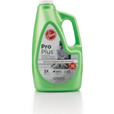Walmart – Hoover 2X ProPlus Professional Strength Carpet Cleaner & Upholstery Solution 120 oz, AH30051 Only $19.23 (Reg $22.33) + Free Store Pickup