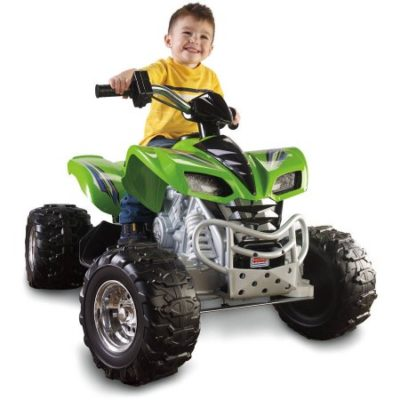 Walmart – Fisher-Price Power Wheels Kawasaki KFX 12-Volt Battery-Powered Ride-On, Green Only $198.00 (Reg $229.97) + Free Shipping