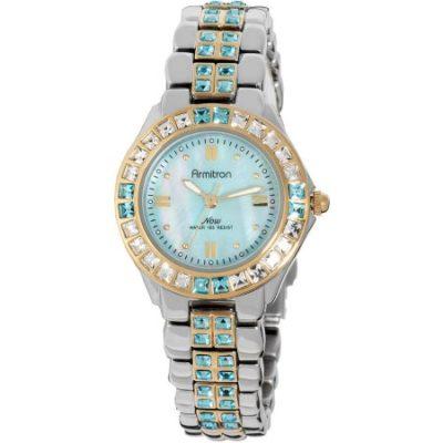 Walmart – Armitron Women's Now Two-Tone Crystal Dress Watch Only $47.06 (Reg $58.92) + Free Store Pickup