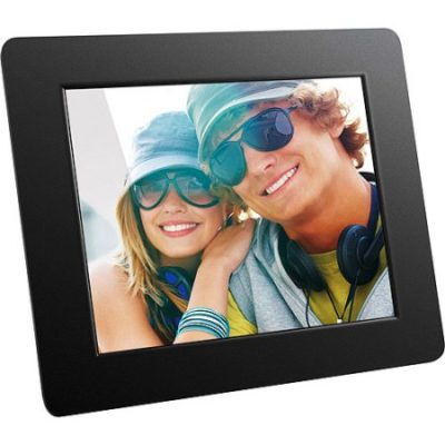 Walmart – Aluratek 8″ Hi-Res Digital Photo Frame Only $38.29 (Reg $59.97) + Free Store Pickup