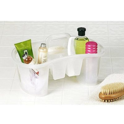 Walmart – Unique Compartmentalized Bath Caddy, Iced White Only $9.38 (Reg $14.00) + Free Store Pickup