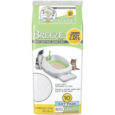 Walmart – Purina Tidy Cats BREEZE Cat Pads Refill for Multiple Cats 10 ct Pouch Only $14.22 (Reg $16.99) + Free Store Pickup