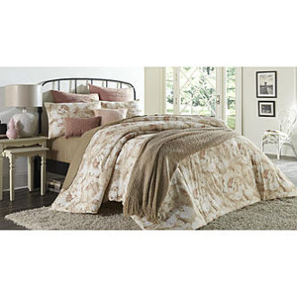 Sears – Cannon Watercolor Comforter Set Only $64.97 (Reg $129.99) + Free Shipping for King Size
