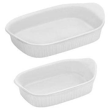 Kmart – Corning Ware 2 Piece Baking Set – French White Only $18.86 (Reg $24.99) + Free Store Pickup