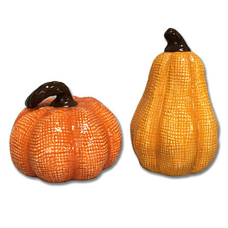 Kmart – Jaclyn Smith Pumpkin Gourd Salt and Pepper Shakers Only $4.67 (Reg $6.99) + Free Store Pickup