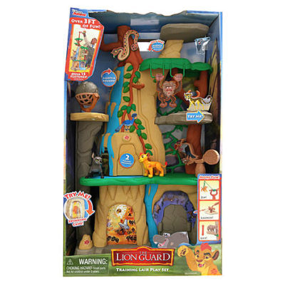 Kmart – Disney Lion Guard Training Lair Playset Only $54.00 (Reg $64.99) + Free Shipping