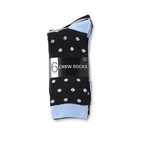 Sears – Studio S Women's 6-Pairs Dress Socks – Mixed Patterns Only $3.99 (Reg $14.00) + Free Store Pickup