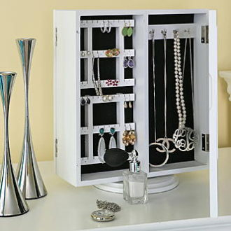Sears – Baxton Studio White Jewelry Storage Only $68.59 (Reg $69.99) + Free Shipping