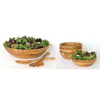 Sears – Lipper International Bamboo 7pc Salad Set Only $76.61 (Reg $89.99) + Free Shipping