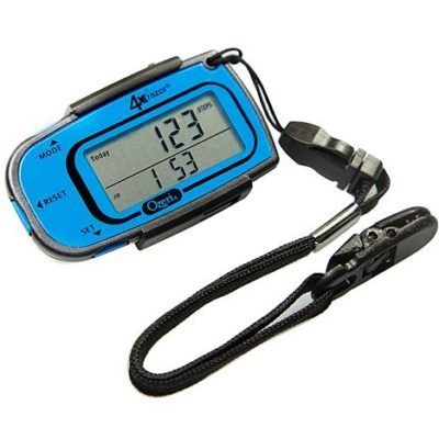 Sears – Ozeri 4×3 Razor Digital Pocket 3D Pedometer with Bosch Tri-Axis Technology from Germany, in Sport Blue Only $17.65 (Reg $29.99) + Free Store Pickup