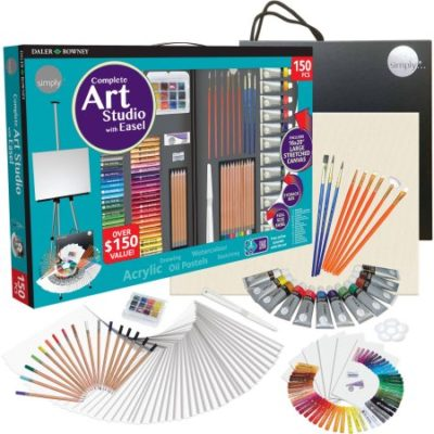 Walmart – Simply 150-Piece Complete Art Easel Studio Set. Over $150 Value! Only $29.97 (Reg $39.97) + Free Store Pickup