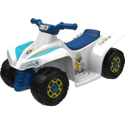 Walmart – Minions 6-Volt Little Quad Electric Battery-Powered Ride-On Only $39.00 (Reg $79.00) + Free Store Pickup