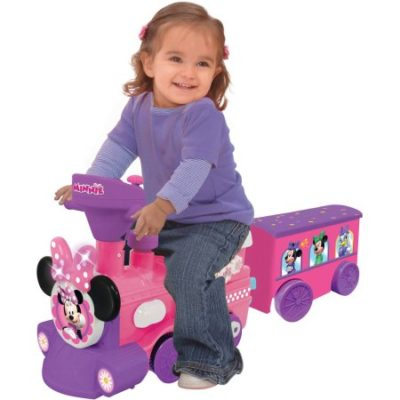 Walmart – Disney Minnie Mouse 2-in-1 Battery-Powered Train with Trailer Only $39.00 (Reg $79.00) + Free Store Pickup