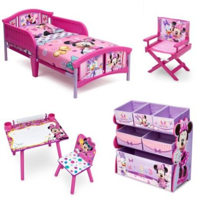 Walmart – Disney Minnie Mouse Room-in-a-Box with Bonus Chair Only $112.16 (Reg $119.00) + Free Shipping