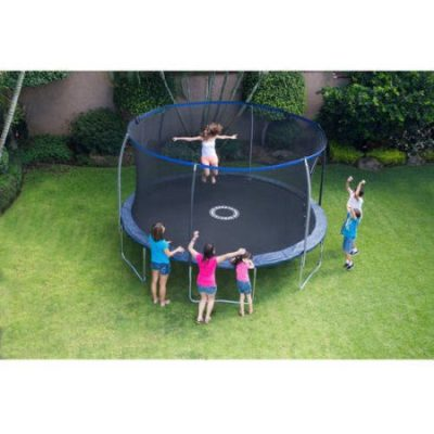 Walmart – BouncePro 14′ Trampoline with Proflex Enclosure and Electron Shooter Game, Dark Blue Only $199.00 (Reg $319.00) + Free Shipping
