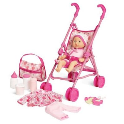 Walmart – Kid Connection Baby Doll Stroller Play Set Only $13.67 (Reg $19.97) + Free Store Pickup