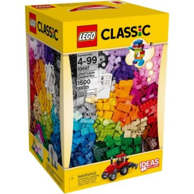 Walmart – Lego Classic Lego Large Creative Box Only $49.99 (Reg $59.99) + Free Store Pickup