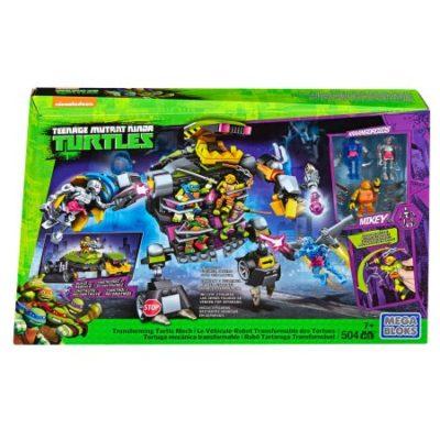 Walmart – Mega Bloks Teenage Mutant Ninja Turtle Transforming Turtle Mech Only $28.99 (Reg $49.67) + Free Store Pickup