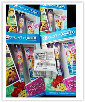 Disney Princess Oral-B Toothbrush Set FREE at Walmart