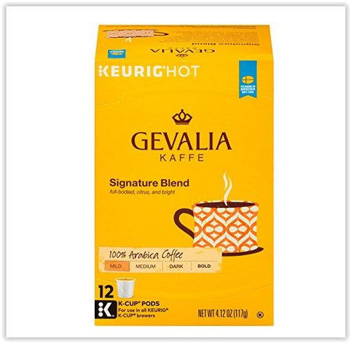 Amazon – Gevalia Kaffe Signature Blend 12-Count K-Cups Only $3.82 Shipped (Just 32¢ Per K-Cup)