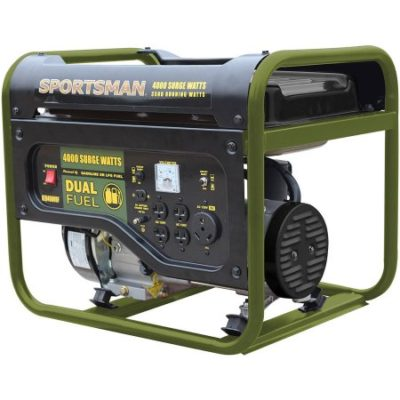 Walmart – Sportsman 4000W Dual-Fuel Generator Only $329.98 (Reg $580.86) + Free Shipping