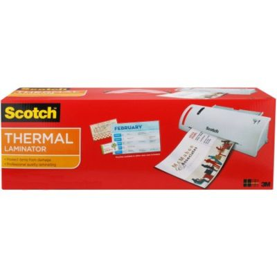 Walmart – Scotch Thermal Laminator, 1 Laminator and 5 Starter Pouches Only $9.98 (Reg $19.98) + Free Store Pickup