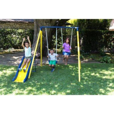 Walmart – Sportspower Power Play Time Metal Swing Set Only $59.00 (Reg $99.00) + Free Shipping