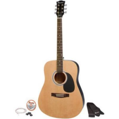 Walmart – Maestro by Gibson MA41NACH 41″ Full Size Acoustic Guitar Kit Only $69.00 (Reg $99.99) + Free Shipping