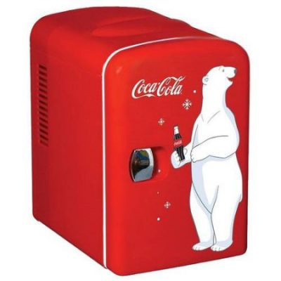 Walmart – Coca-Cola Personal Compact Refrigerator Only $29.99 (Reg $49.49) + Free Store Pickup